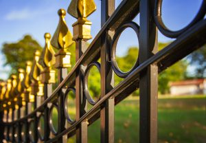 Wrought Iron Ornamental Fences Installations
